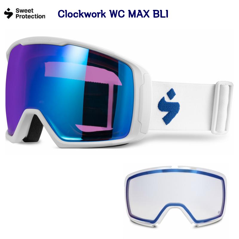スゥィートプロテクション SWEET PROTECTION Clockwork WC MAX BLI スノーゴーグル スキー クロックワーク マックス ワールドカップ クリアレンズ付き