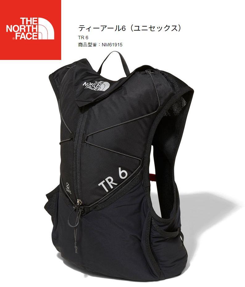 ノースフェイス THE NORTH FACE TR 6 K NM61915  ティーアール6 バックパック ブラック
