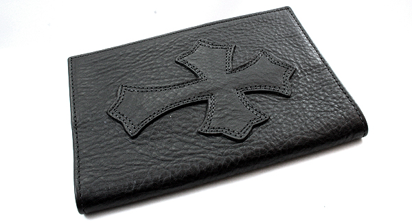 Chrome hearts ( CHROME HEARTS ) Passport cover V1 cemetery cross L to R