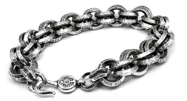 B Bee Chrome Hearts Bracelet Men S Double Ring Bracelets Necklace Silver Accessories Wallets T Shirts Caps Belt 22
