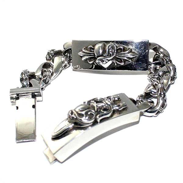 739a158596db Chrome hearts ( Chrome Hearts ) chrome hearts bracelet men s chrome chrome    dagger   floral ...