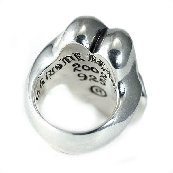 Chrome hearts ( Chrome Hearts ) chrome hearts rings chrome lip & tanglin/large (rolling stones limited )