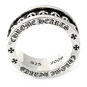 Plus ring chrome hearts CH with chrome ( Chrome Hearts ) chrome hearts rings / mini (ring men's Necklace silver accessories wallets T shirts caps ring 22 k)