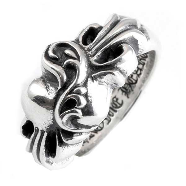 71ccdaed84b ams-la  Chrome hearts floral heart ring