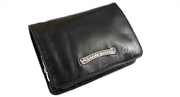 02bbe7b7b273 Chrome hearts purse wallet 2 fold wallet mens ( CHROME HEARTS ) Joey BLK  light leather wallet (chrome hearts wallet coin purse glasses bags)