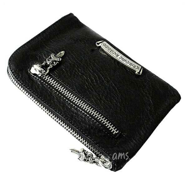6e61ba55bc0f クロムハーツ財布(ChromeHearts)2サイドジップウォレット3クロスパッチーズ(メンズ