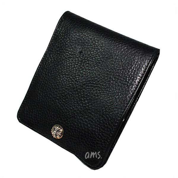 f0412703acdc クロムハーツ 財布(Chrome Hearts)ワンスナップ·クロスボタンブラック ...
