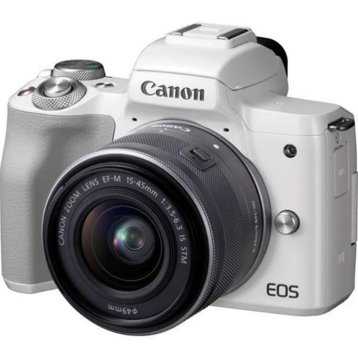 Canon EOS Kiss M ホワイト レンズキット