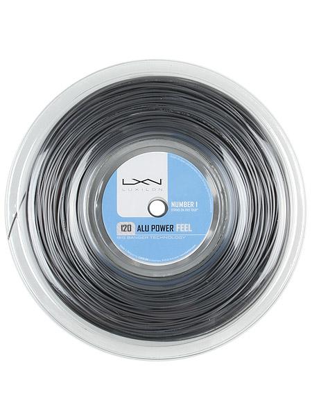ルキシロン ビッグバンガー アルパワー フィール(1.20mm) 200Mロール 硬式テニス ポリエステル ガット(Luxilon ALU Power Feel 17 (1.20) 200m String Reel)WRZ9901