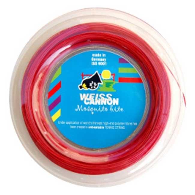 ウエスキャノン(WEISS CANNON) モスキート バイト(1.16mm) 200Mロール 硬式テニス ポリエステルガット【2018年1月登録】