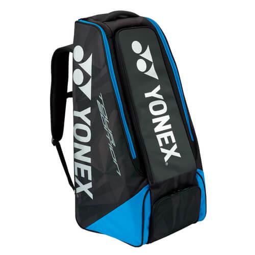 【ラケット収納可】ヨネックス(YONEX) 2018 スタンドバッグ ブラック×ブルー BAG1809【2018年2月登録】次回使えるクーポンプレゼント