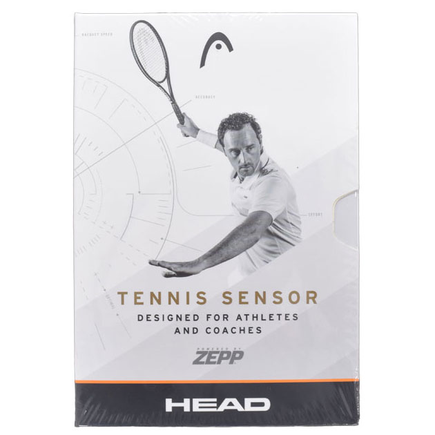 【プレーを分析!テニス専用センサー】ヘッド(HEAD) テニスセンサー 285807【2018年2月登録】