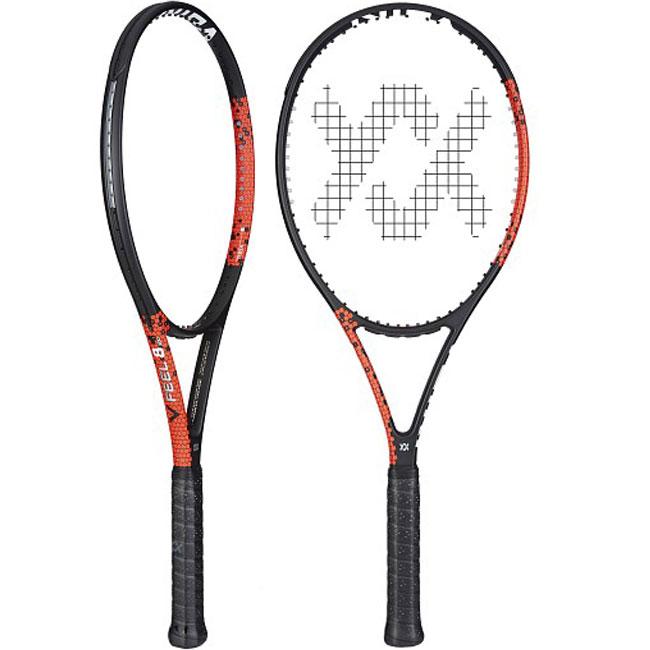 フォルクル(Volkl) 2018 Vフィール 8 (300g) V18802(海外正規品)【2018年6月登録 硬式テニスラケット】[AC]
