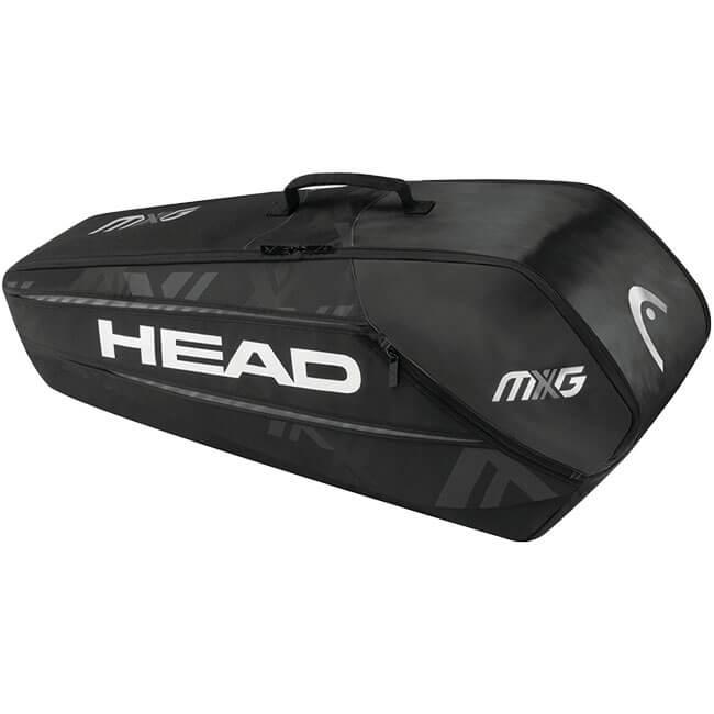 【6本収納】ヘッド(HEAD) 2018 MXG 6R コンビ ラケットバッグ 283728-BKSI【2018年7月登録】