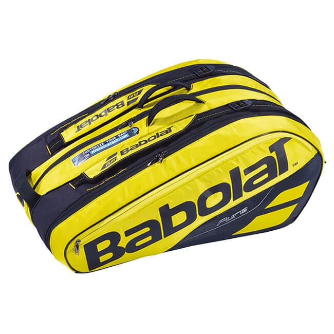 【12本収納】バボラ(Babolat) 2019 ピュアアエロ PURE AERO RACKET HOLDER X12 ラケットバッグ 751180-191【2018年10月登録】[次回使えるクーポンプレゼント]