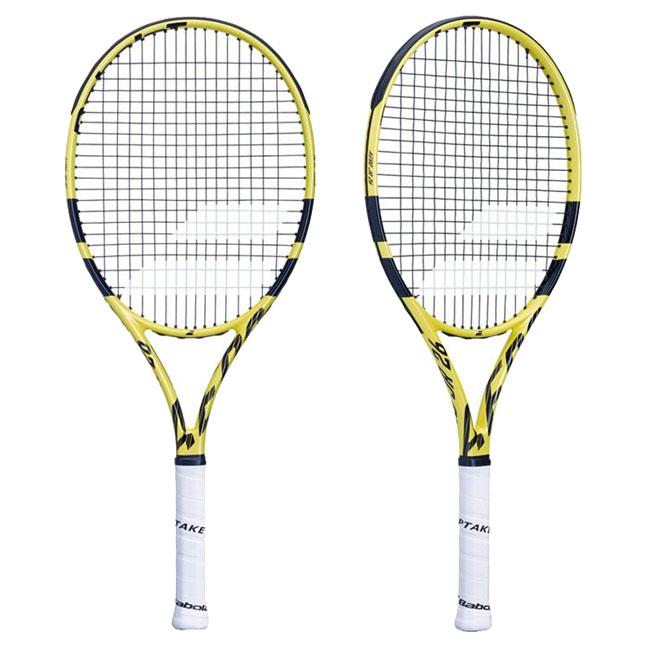 [グラファイト素材]バボラ(Babolat) 2019 ピュアアエロJr26(250g)(海外正規品) 140253【2018年10月登録】硬式ジュニアテニスラケット
