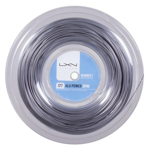 ルキシロン ビッグバンガー アルパワー スピン(1.27mm) 220Mロール 硬式テニス ポリエステル ガット( Luxilon BB ALU Power Spin 1.27 String Reel 220m)WRZ9932次回使えるクーポンプレゼント