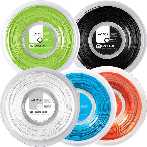 ルキシロン サベージ(1.27mm) 200Mロール 硬式テニスガット ポリエステルガットLuxilon 200m roll strings[次回使えるクーポンプレゼント]