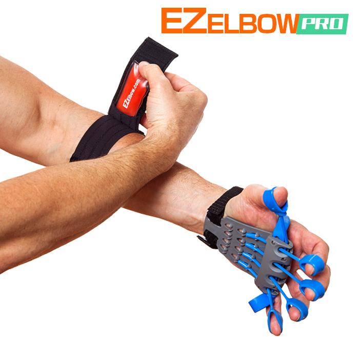 今なら次回使えるクーポンプレゼント】【テニス肘サポート・再発防止】イージーエルボープロ エクステンサー(EZ ElbowPro Xtensor)【テニスエルボーサポーター・トレーニングセット】