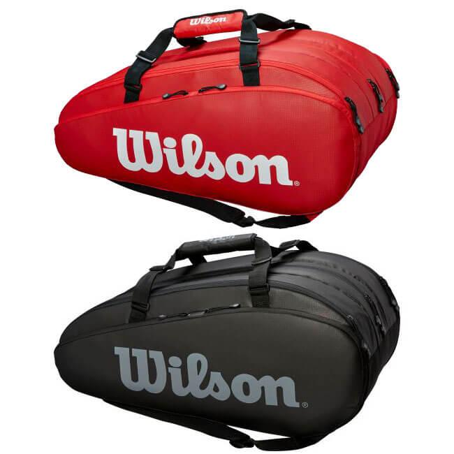 [15本収納]ウィルソン(Wilson) TOUR 3 COMP ラケットバッグ WRZ847915/WRZ849315(19y2m)[次回使えるクーポンプレゼント]