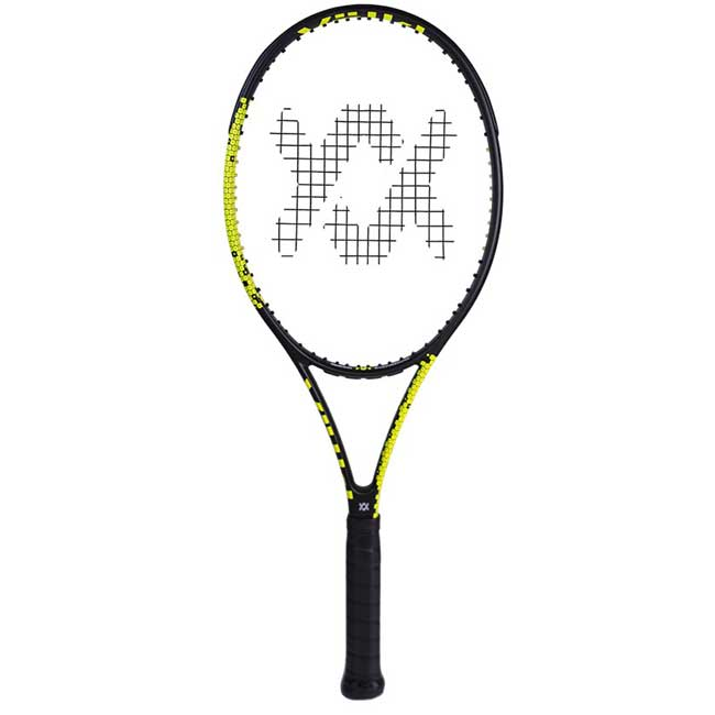 フォルクル(Volkl) Vフィール10 320 V-FEEL10 (320g) ブラックxイエロー 海外正規品 硬式テニスラケット V18011(19y3m)[AC]次回使えるクーポンプレゼント