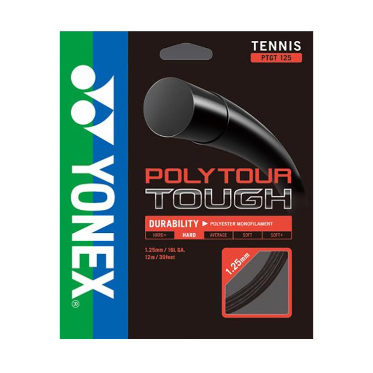 流行 メール便可 即納 国内未発売モデル 単張パッケージ品 ヨネックス YONEX ポリツアー タフ PTGT125 12M ポリエステルガット 1.25mm 次回使えるクーポンプレゼント 硬式テニス 19y9m 100%品質保証