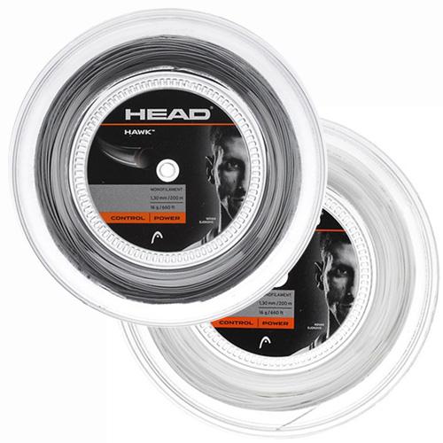 ヘッド ホーク(1.20mm/1.25mm/1.30mm)200Mロール 281113 硬式テニスガットポリエステルガットHead HAWK 200m roll strings【2015年8月登録】