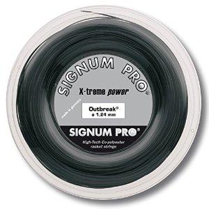 [96H限定8%OFF対象]シグナムプロ アウトブレイク(118/124/130)200Mロール 硬式テニス ポリエステル ガット(Signum Pro Outbreak 200m roll strings)[次回使えるクーポンプレゼント]