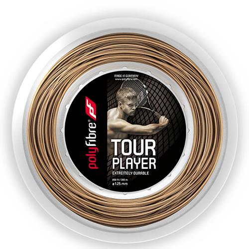 ポリファイバー ツアー プレイヤー(1.25mm)200Mロール硬式テニスガット ポリエステルガット(Polyfibre Tour Player 16L/1.25 String)【2015年8月発売】