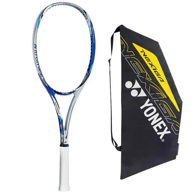 ヨネックス(YONEX) 2019 ネクシーガ10 NEXIGA10 メタリックブルー 国内正規品 ソフトテニスラケット NXG10-074(19y3m)次回使えるクーポンプレゼント