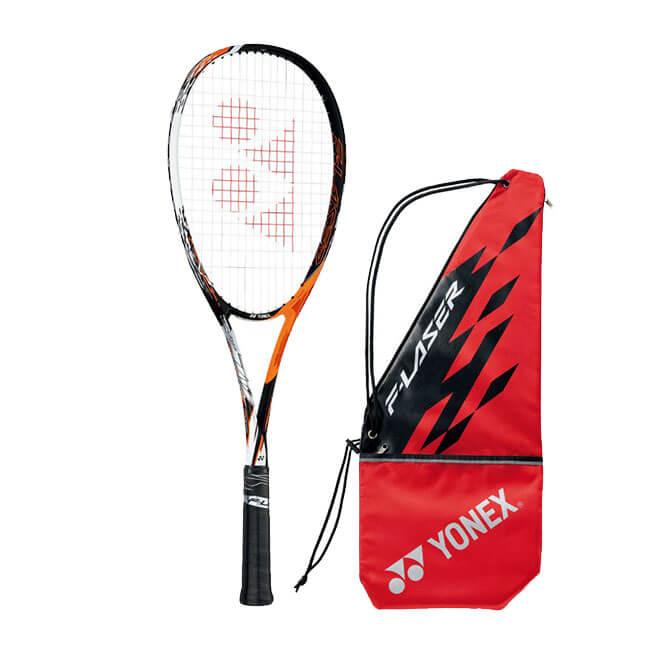 ヨネックス(YONEX) 2019 エフレーザー7V F-LASER7V サイバーオレンジ 国内正規品 ソフトテニスラケット FLR7V-814(19y3m)次回使えるクーポンプレゼント
