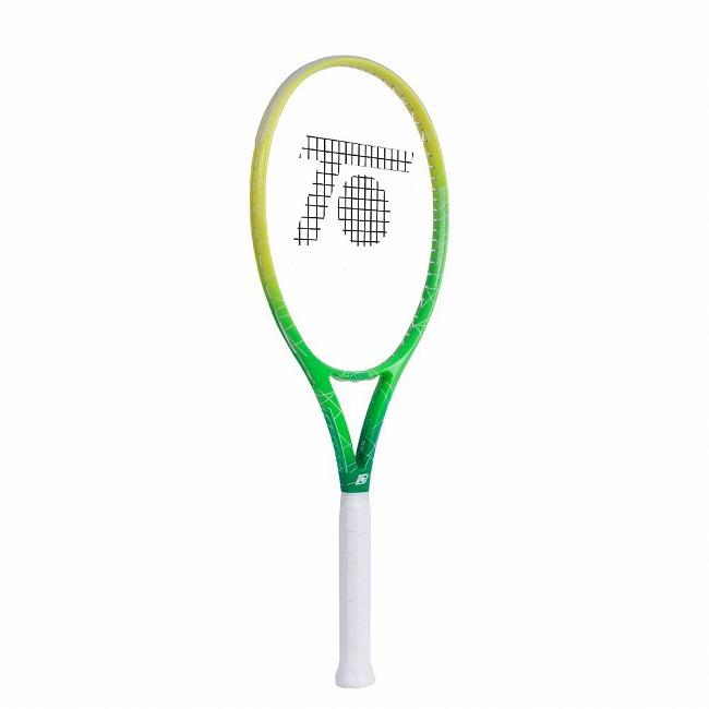 トップスピン(TOPSPIN) キュレックス S2 (275g) 海外正規品 硬式テニスラケット グリーン×イエロー×ホワイト(19y5m)[NC][次回使えるクーポンプレゼント]