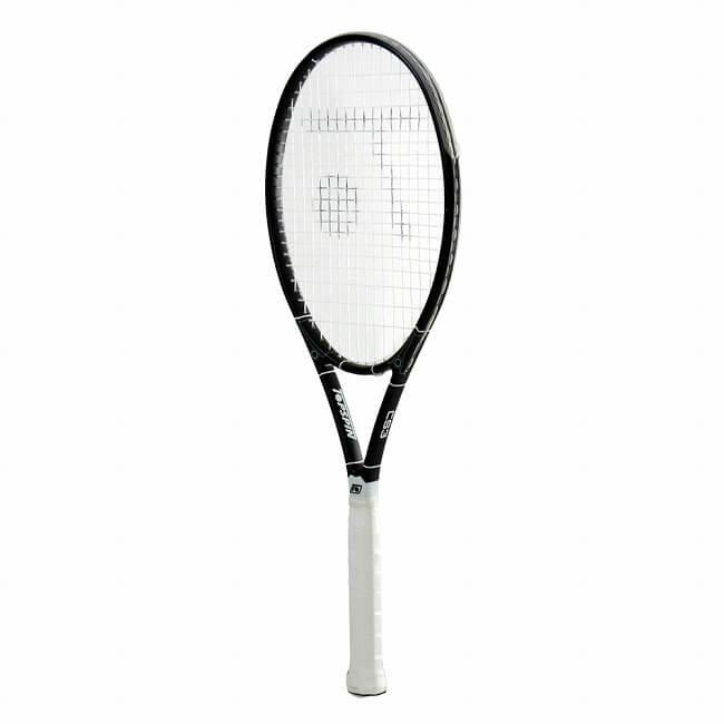 トップスピン(TOPSPIN) ピュア CS3 (290g) 海外正規品 硬式テニスラケット ブラック×ホワイト(19y5m)[NC][次回使えるクーポンプレゼント]