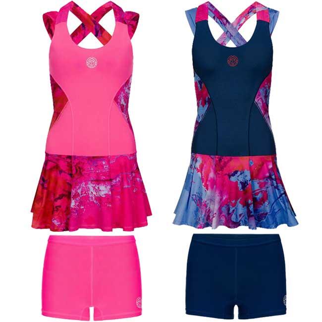 [海外サイズ]BIDI BADU(ビディバドゥ) 2019 SP レディース リーパ(Lipa) テックドレス(2in1) (19y1mテニス)テニスウェア[次回使えるクーポンプレゼント]