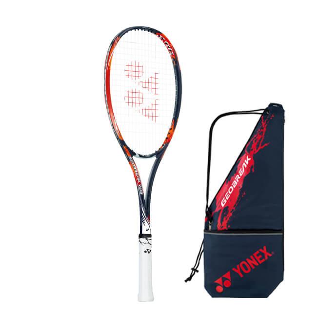 ヨネックス(YONEX) 2019 ジオブレイク 70S (GEOBREAK 70S) 国内正規品 ソフトテニスラケット GEO70S-816 クラッシュレッド(19y7m)[次回使えるクーポンプレゼント]