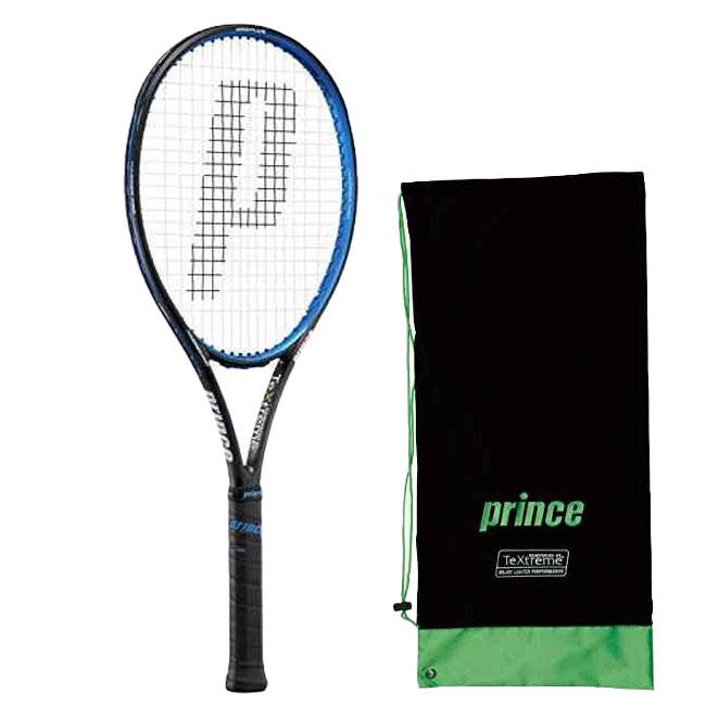 在庫処分特価】プリンス(Prince) ハリアー プロ 100 XR-M (280g) 国内正規品 硬式テニスラケット 7TJ026-ブラック×ブルー(19y8m)[AC][次回使えるクーポンプレゼント]