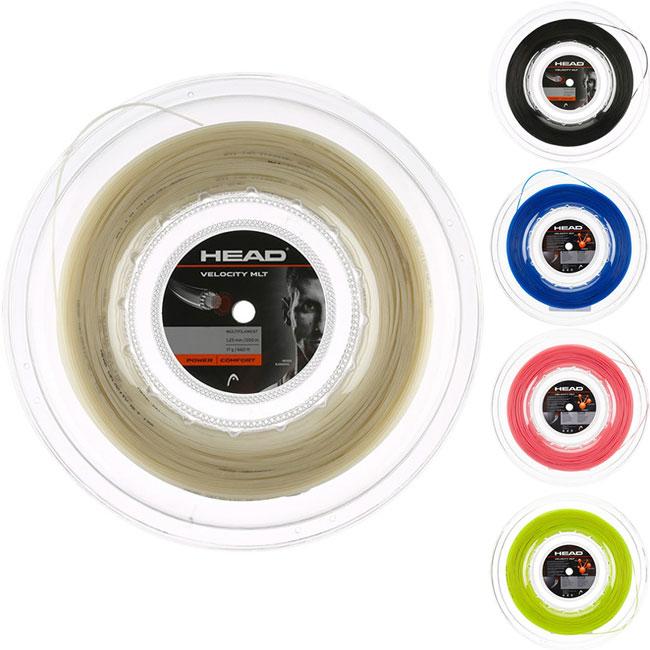 マラソン最終日7時間限定10%OFFクーポン】ヘッド ベロシティ MLT 200Mロール(1.25mm/1.30mm)硬式テニスガット マルチフィラメントガット(Head Velocity MLT String)【2015年12月登録】[次回使えるクーポンプレゼント]