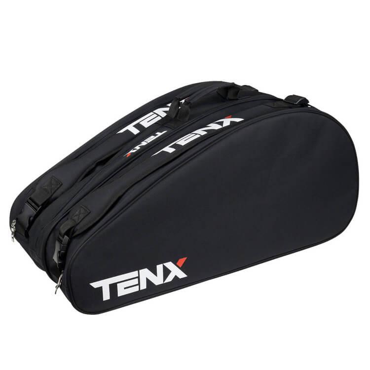 [12本収納]テンエックス プロ(TENX PRO) Tour 12PK ラケットバッグ ブラック (19y10m)[次回使えるクーポンプレゼント]