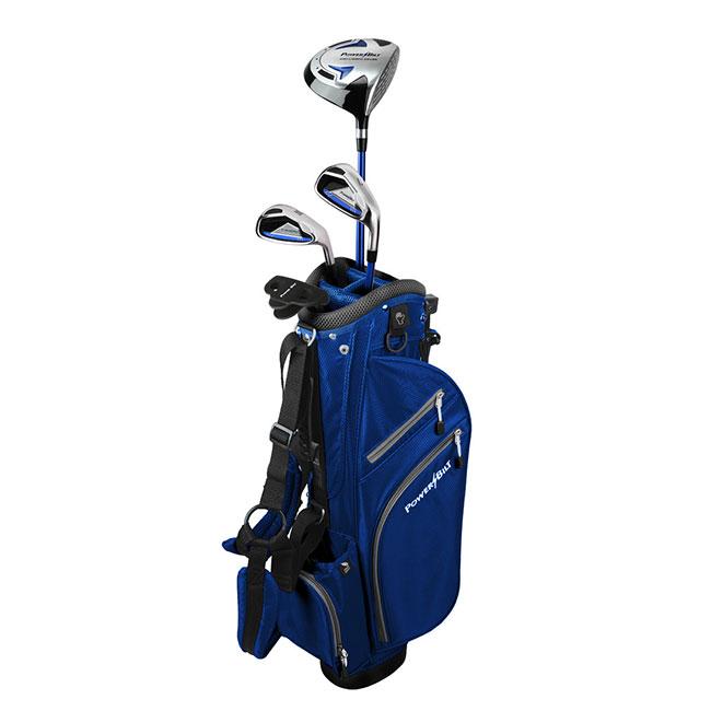 [5-8歳向け] パワービルト(Power Bilt) ジュニア(ボーイズ) 7P ジュニアゴルフセット PB697310-ブルー(19y11m)[次回使えるクーポンプレゼント]