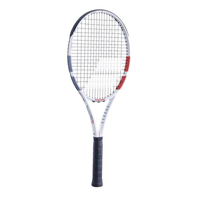 バボラ(Babolat) ストライク エボ (280g) STRIKE EVO 海外正規品 硬式テニスラケット 102414-323ホワイト×レッド×ブラック(20y1m)[AC][次回使えるクーポンプレゼント]