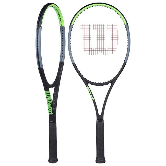 ウィルソン(Wilson) ブレード98 V7.0 (18×20) (305g) 海外正規品 硬式テニスラケット WR013711-ブラック×グリーン×グレー(20y1m)[NC][次回使えるクーポンプレゼント]
