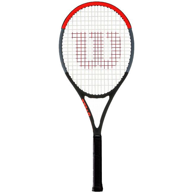 送料無料 即納 ガット張り無料 在庫処分特価 ウィルソン Wilson クラッシュ100 20y1m 記念日 直営ストア 硬式テニスラケット NC 295g 次回使えるクーポンプレゼント 海外正規品 WR005611-ブラック×レッド×グレー