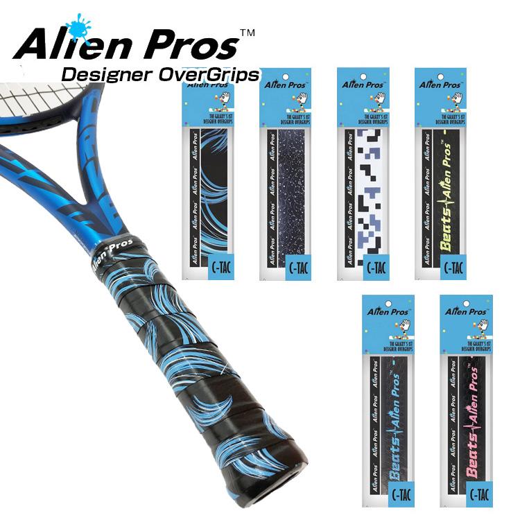 メール便可 即納 ウェット1本入 Alien Pros エイリアン プロス デザイナー テニス グリップテープ 次回使えるクーポンプレゼント タイプ CT-TE-1 19y10m 公式サイト 年末年始大決算 ウェット C-TAC