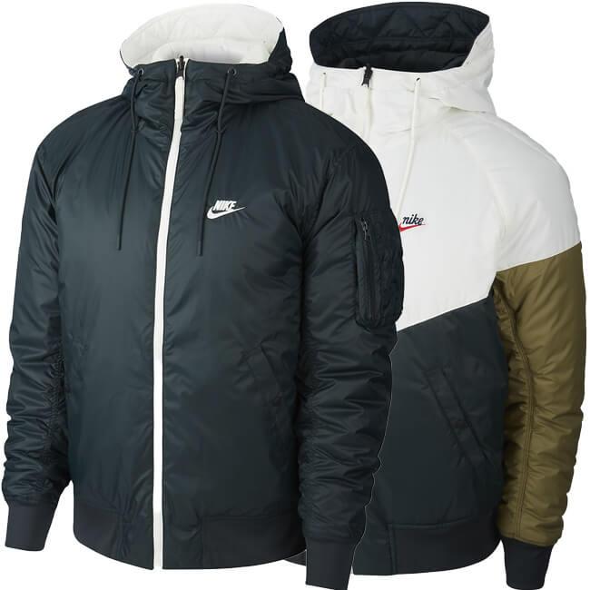 [日本サイズ]ナイキ(NIKE) メンズ スポーツウエア ウィンドランナー リバーシブル フード付きジャケット CJ4378-364シーウィード×セイル(20y1mトレーニング)[次回使えるクーポンプレゼント]