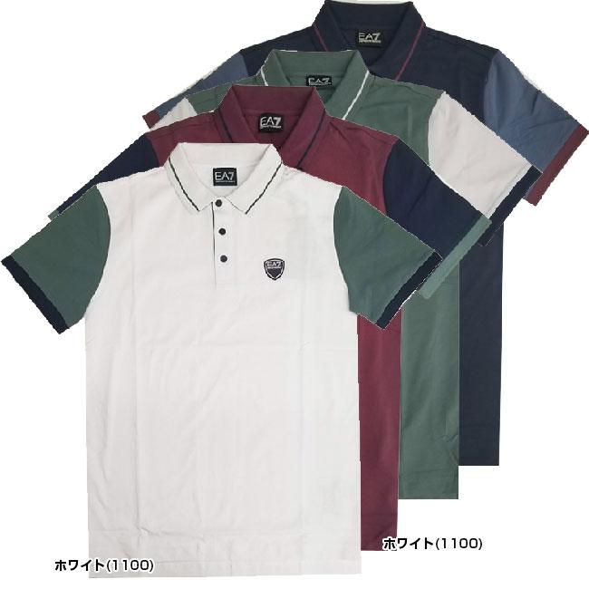 [USサイズ]ARMANI(アルマーニ) 2020 メンズ EA7 ポロシャツ 3HPF11-PJ20Z(20y3mテニス)[次回使えるクーポンプレゼント]