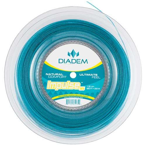 ダイアデム インパルス(1.25mm/1.32mm) 200Mロール 硬式テニス マルチフィラメント ガット(DIadem Impulse strings)【2015年11月発売】[次回使えるクーポンプレゼント]