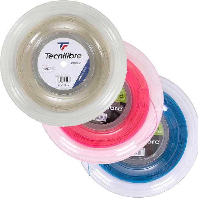 テクニファイバー(Tecnifibre) マルチフィール (1.25mm/1.30mm/1.35mm)200Mロール 硬式テニス マルチフィラメントガット (20y5m)[次回使えるクーポンプレゼント]