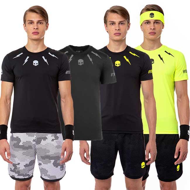 [海外サイズ]ハイドロゲン(HYDROGEN) 2020 メンズ テック ストーム Tシャツ T00200(20y5mテニス)[次回使えるクーポンプレゼント]