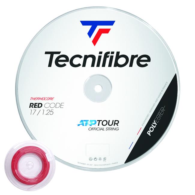 本日限定 送料無料 即納 テクニファイバー ロール Tecnifibre RED CODE レッドコード 130 次回使えるクーポンプレゼント 硬式テニス 120 125 年間定番 ガット 200Mロール ポエステル