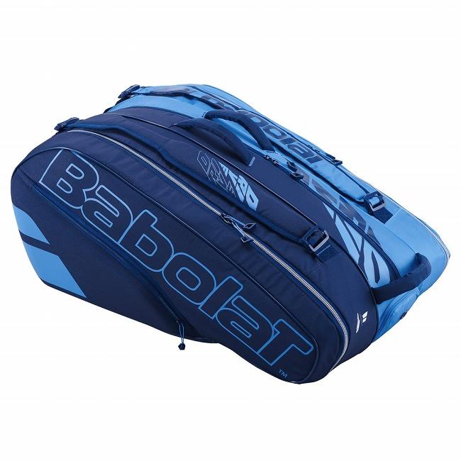 送料無料 即納 スピード対応 全国送料無料 12本収納 バボラ 通信販売 Babolat ピュアドライブ RH×12 ブルー テニスバッグ 20y10m ラケットバッグ 次回使えるクーポンプレゼント 751207-136